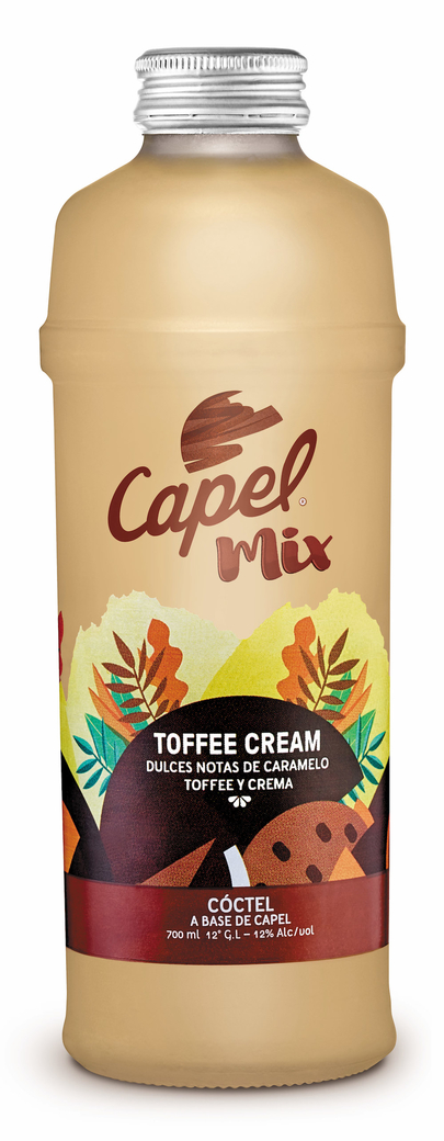 Capel Mix Toffee Cream Colada 700cc