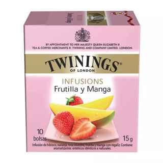 Te Twinings Frutilla y Mango 10 Bolsitas