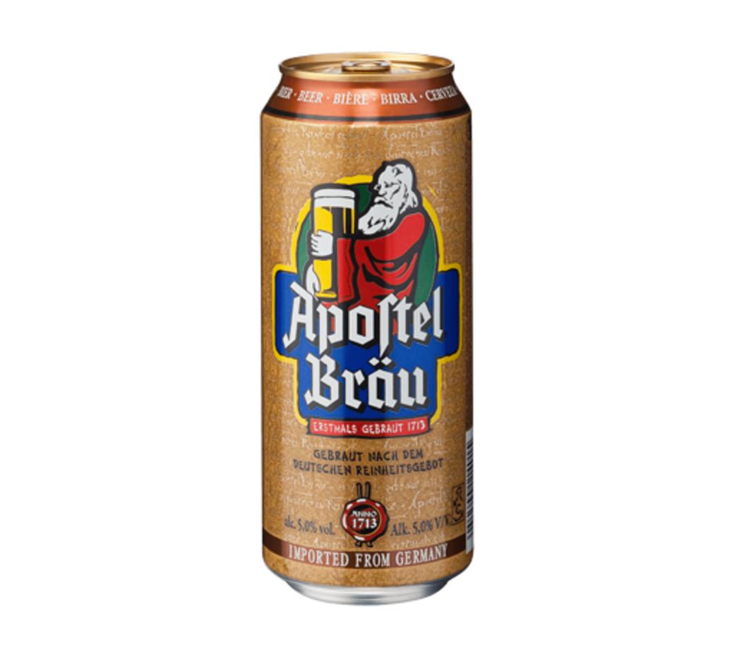 Cerveza Apostel Brau Lata 500cc