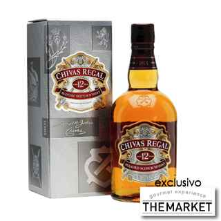 [THE MARKET] Whisky Chivas Regal 12 años 750cc 40º alc.