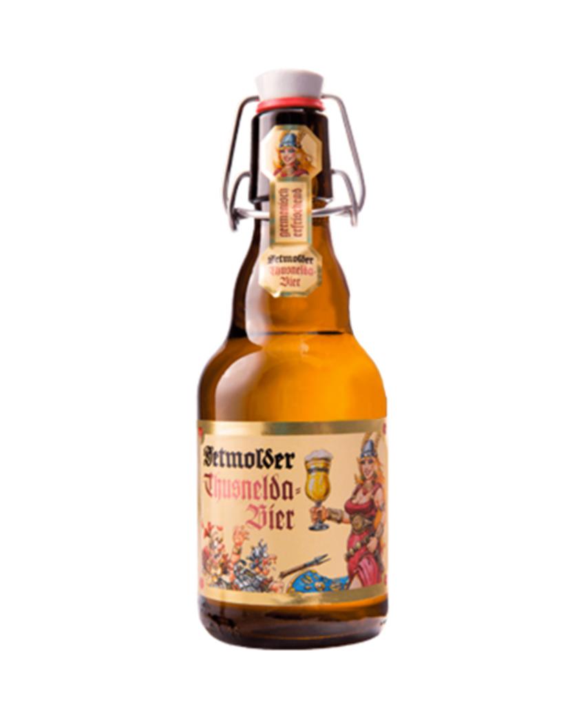 Cerveza Detmolder Thusnelda Botella 330cc 4,8°Alc.