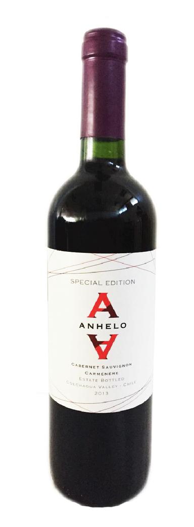 Vino Anhelo Blend (Cabernet - Carmenere) 750cc