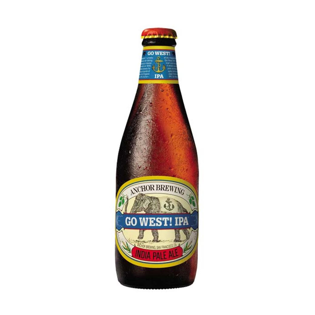 Cerveza Anchor Go West IPA 350cc
