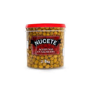Aceituna Verde Nucete Balde Rellena Pimentón 5kg