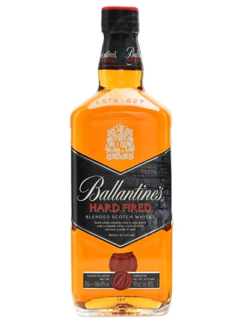 Whisky Ballantines Hard Fired 750cc 40º alc.