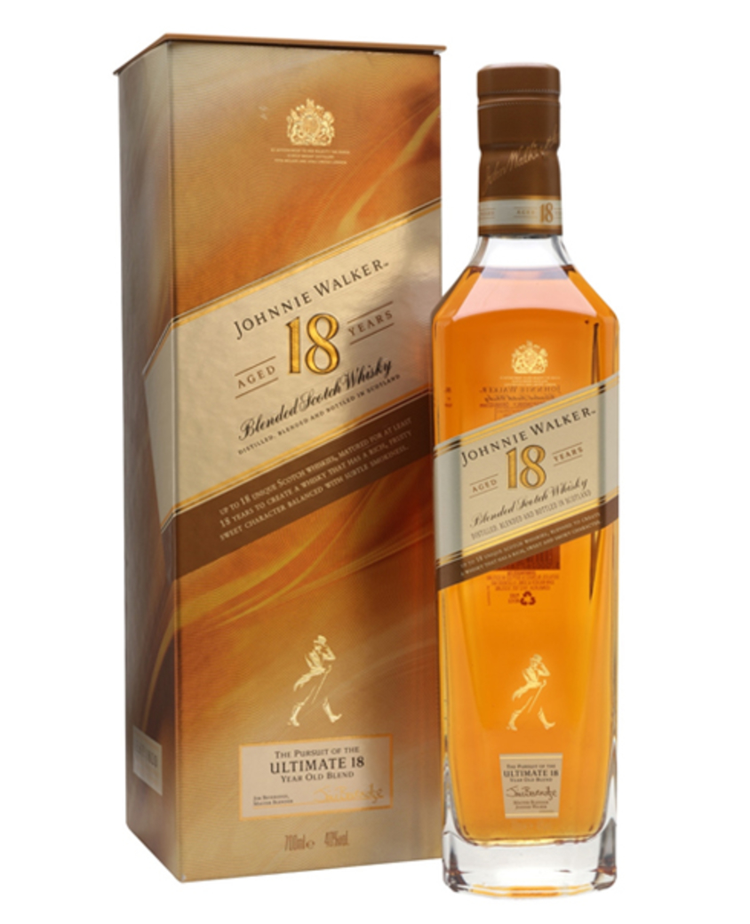 Scotch Whisky Johnnie Walker 18 años 750cc