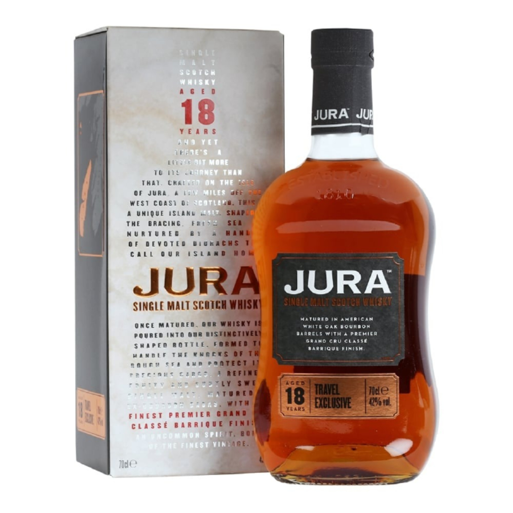 Whisky Jura Single Malt 18 Años 700cc