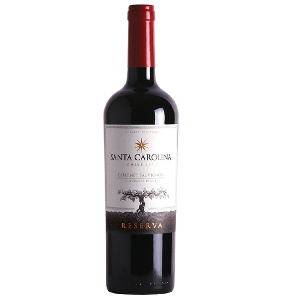 Vino Santa Carolina Cabernet Sauvignon 750cc