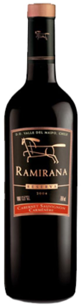 Vino Ventisquero Ramirana Reserva Cabernet Sauvignon / Carmenere 750cc