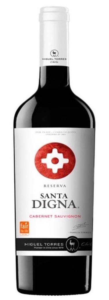 Vino Santa Digna Cabernet Sauvignon Reserva 750cc