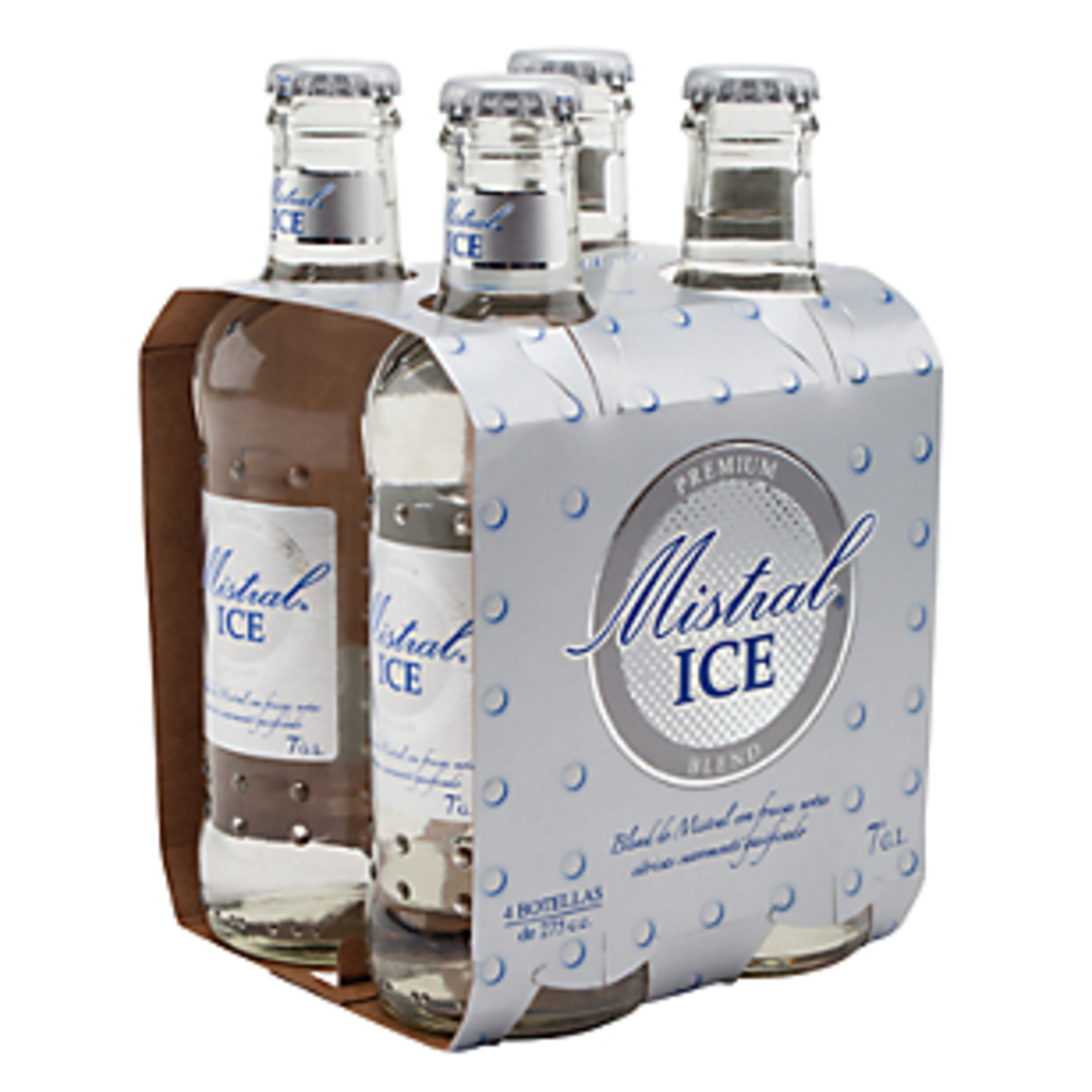 4x Mistral Ice en Botellas 275cc
