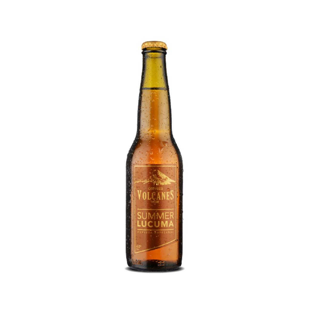 Cerveza Artesanal Volcanes del Sur Summer Lúcuma 1050cc