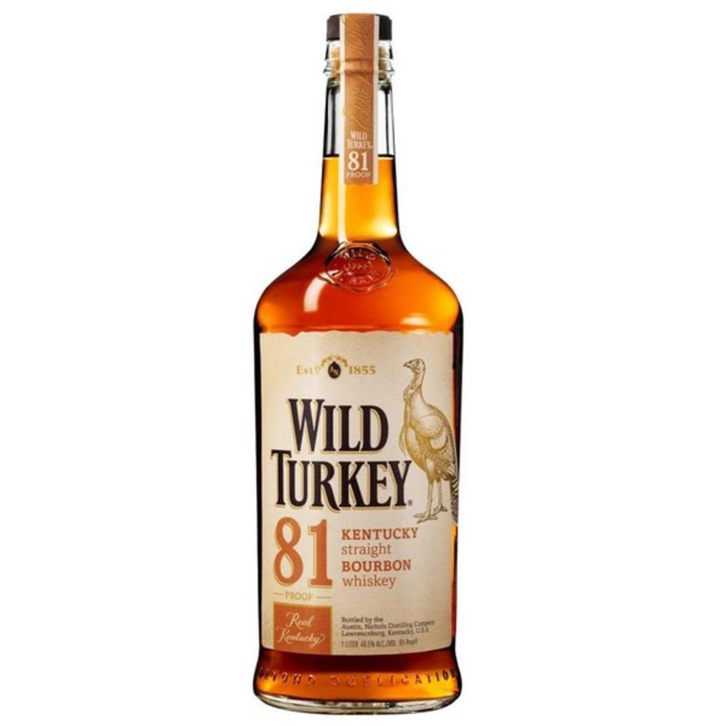 Whiskey Bourbon Wild Turkey 750cc
