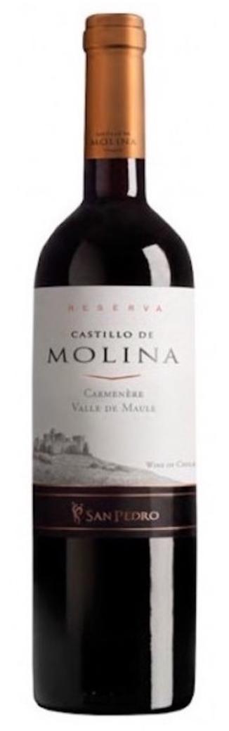 Vino Castillo de Molina Carmenere 750cc