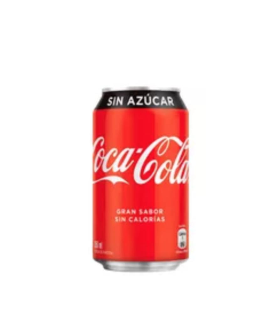 Bebida Coca Cola Sin Azúcar Lata 350cc