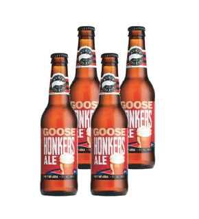 4x Cerveza Goose Island Honkers Ale en Botellas 355cc