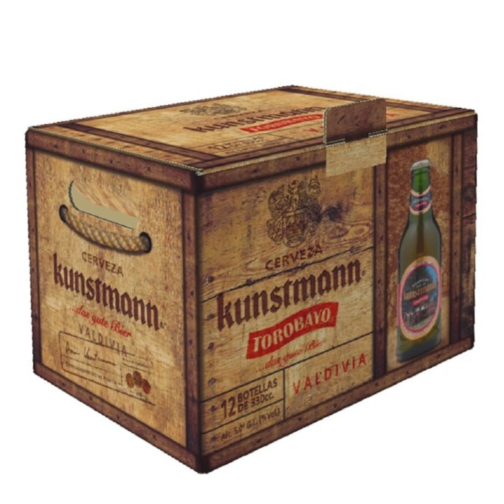 KIT 12x Cerveza Kunstmann Torobayo Botella 330cc