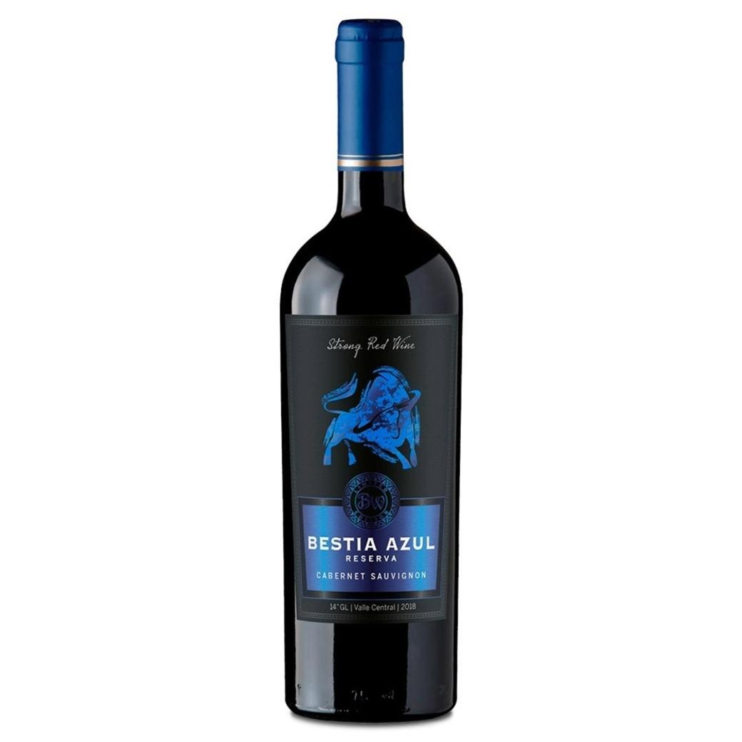 Vino Bestia Azul Cabernet Sauvignon 750cc
