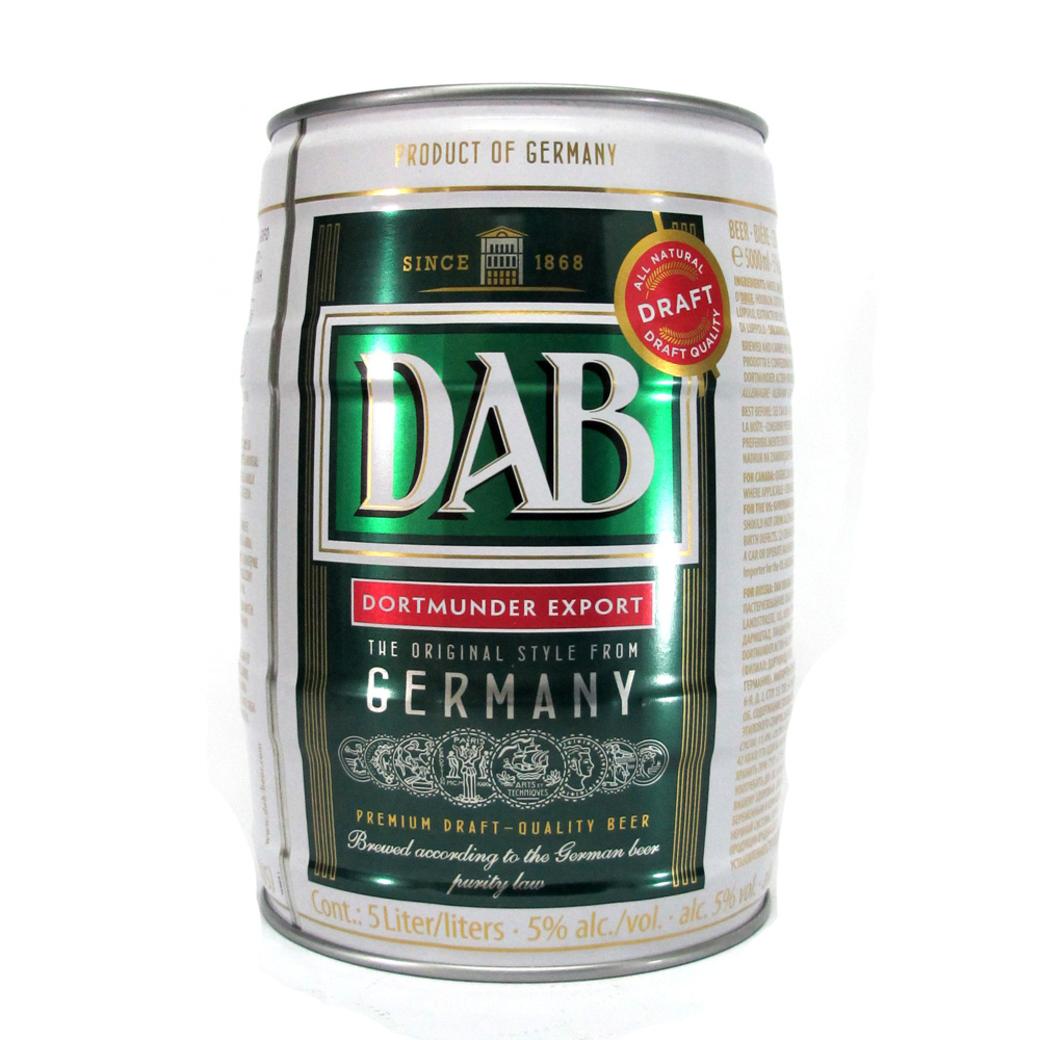 Barril Cerveza DAB Lager 5 litros