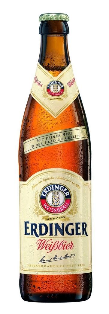 Cerveza Erdinger Weißbier Botella 500cc