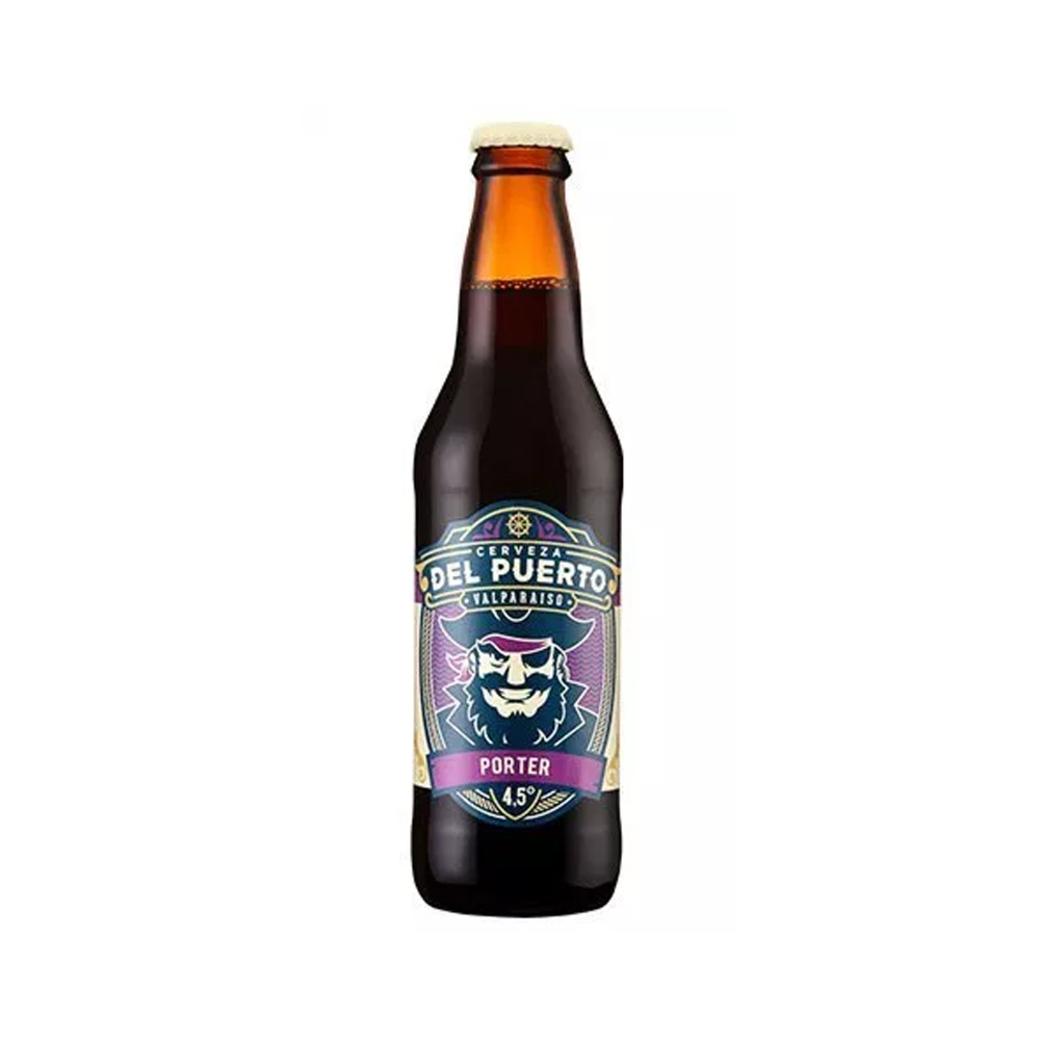 Cerveza del Puerto Porter Botella 330ml