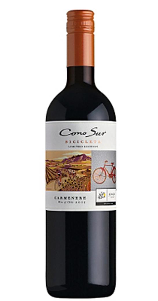 Vino Cono Sur Bicicleta Reserva Carmenere 750cc