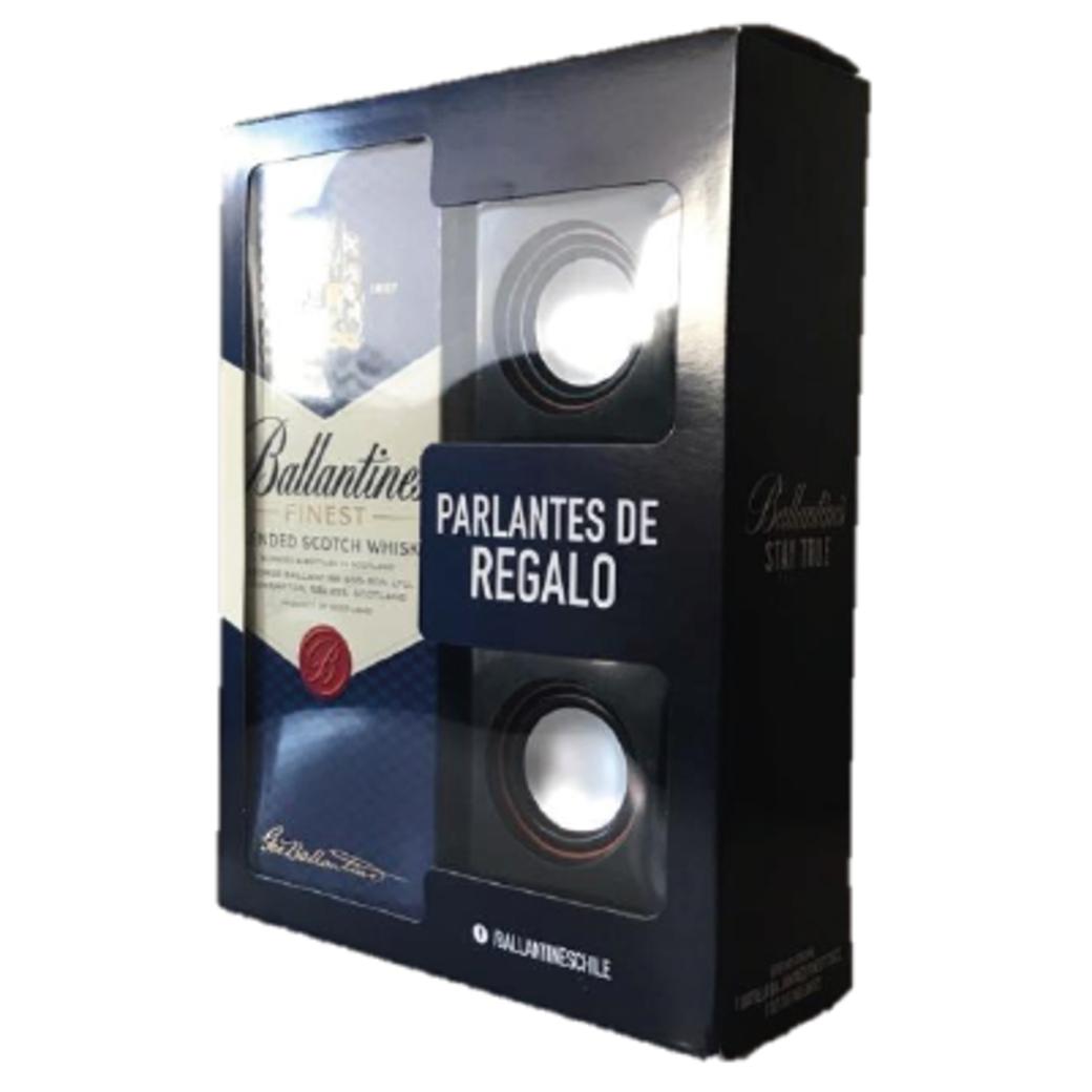 Whisky Ballantines Finest 750cc + Parlante de Regalo