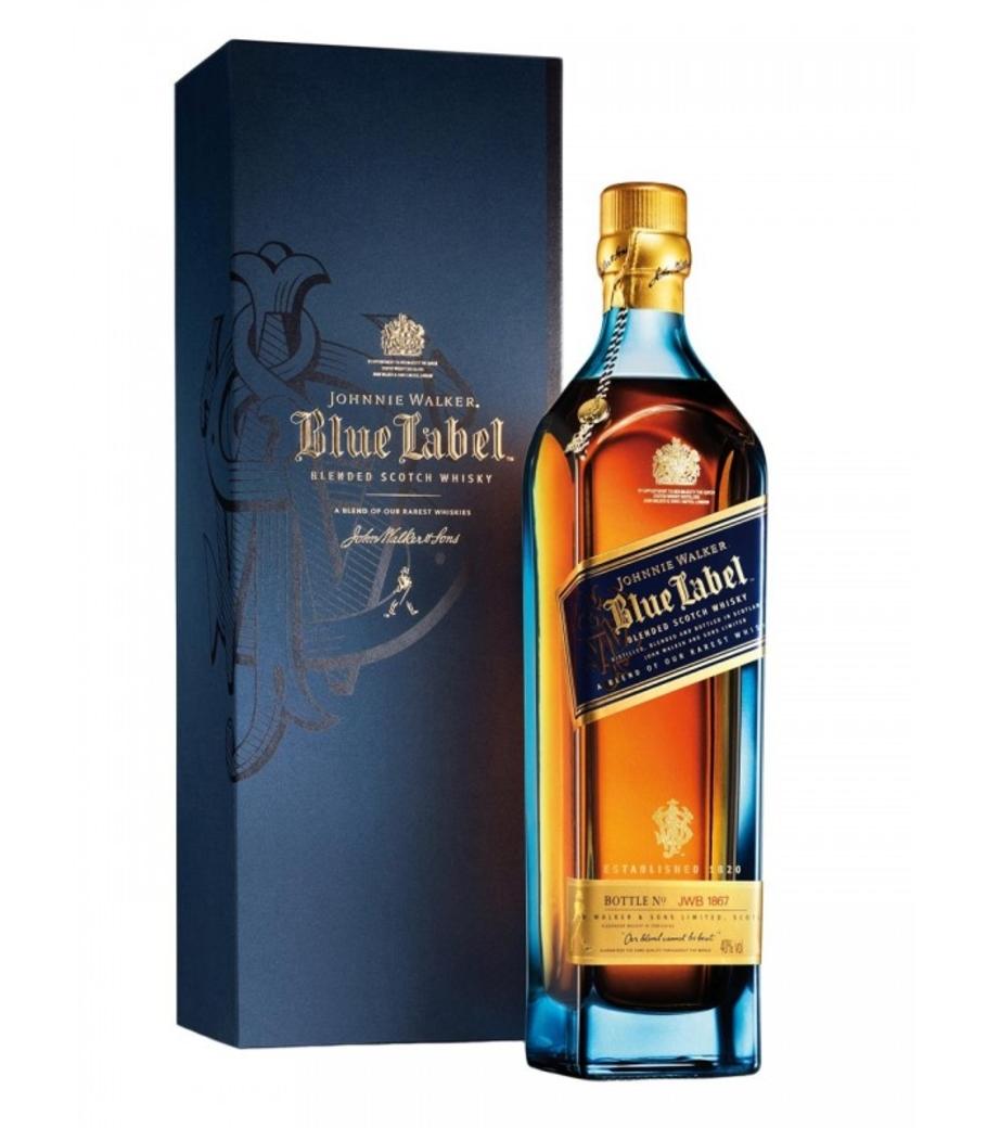 Whisky Johnnie Walker Blue Label 750cc 40º alc.