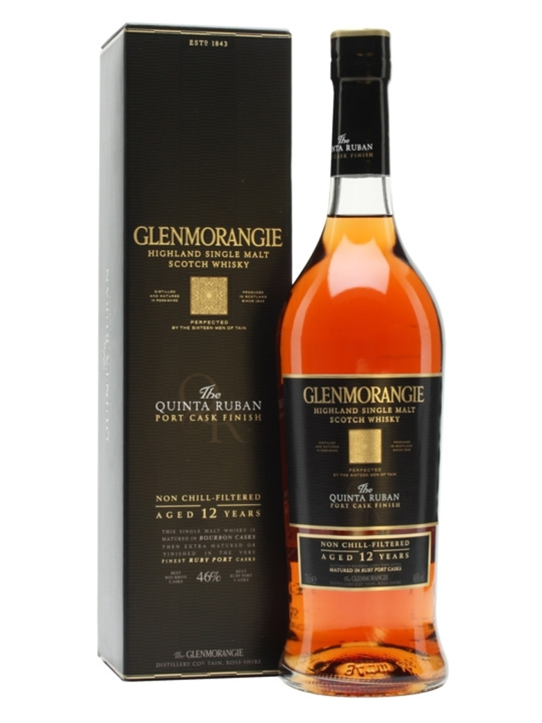 Whisky Glenmorangie Quinta Ruban 750cc 46º alc.