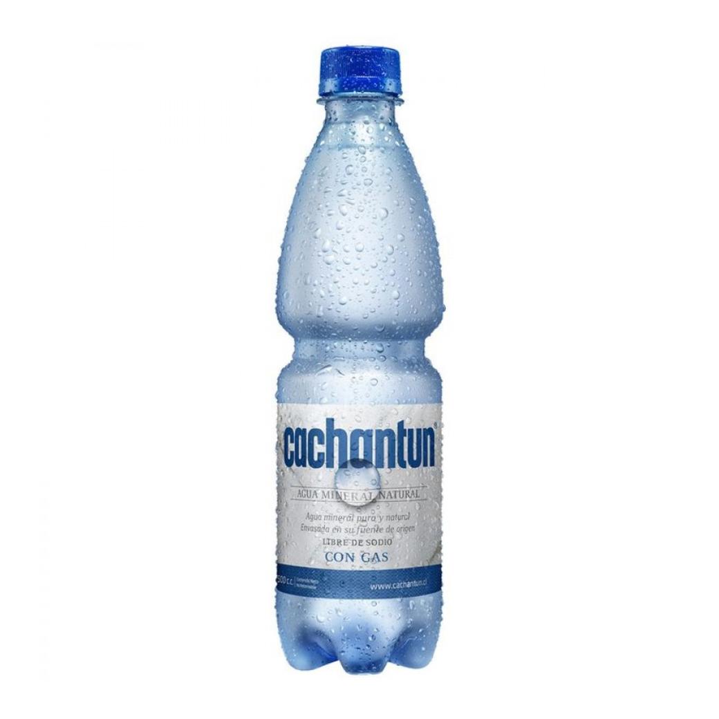 Agua Mineral Cachantun Con Gas 500cc