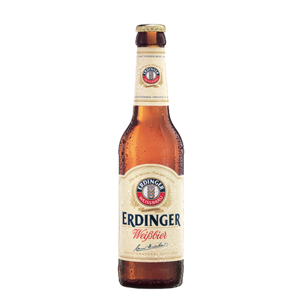 Cerveza Erdinger Weißbier Botella 330cc