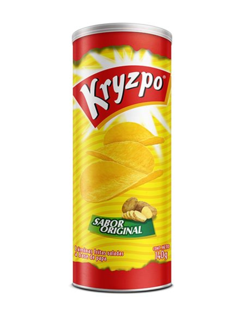 Papas Fritas Kryzpo Sabor Original 140 gramos
