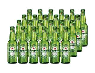Pack 24x Cervezas Heineken en Botellas Long Neck 330cc