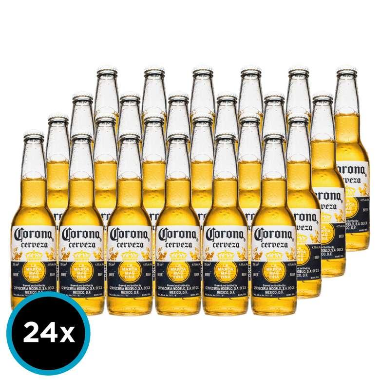 24x Cerveza Corona Extra en Botellas 355cc
