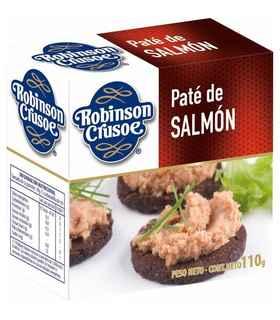 Paté Salmón Ahumado Robinson Crusoe 80  gramos