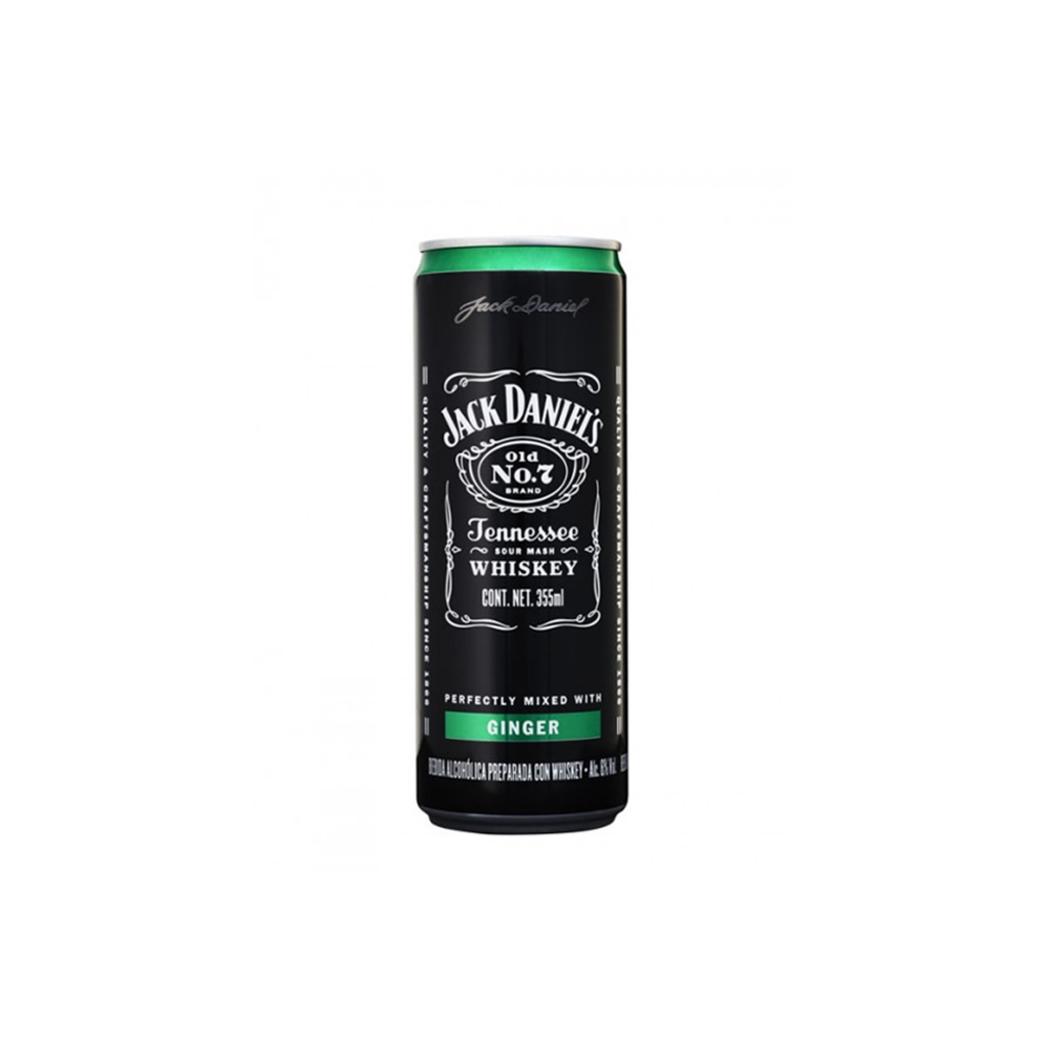 Whiskey Jack Daniel's Lata Ginger 355cc