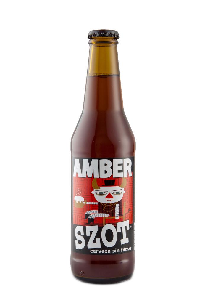 Cerveza Szot Amber Ale Botella 330cc