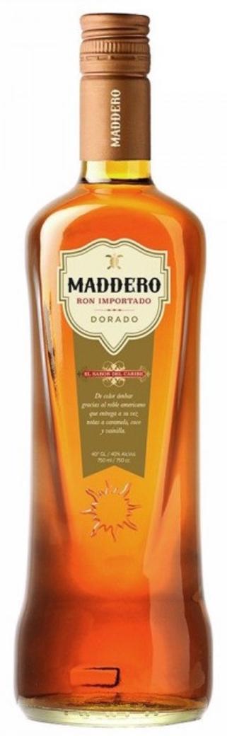 Ron Maddero Dorado Añejo 40 grados 750cc
