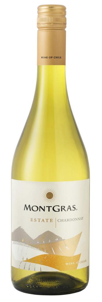 Vino Montgras Estate Chardonnay 750cc