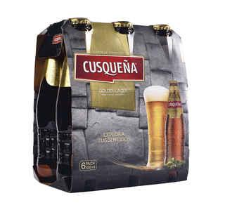 6x Cerveza Cusqueña en Botellas 330cc