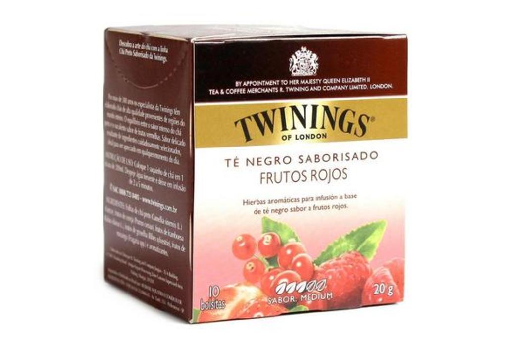 Infusión Twinings Frutos Rojos 10 Bolsitas