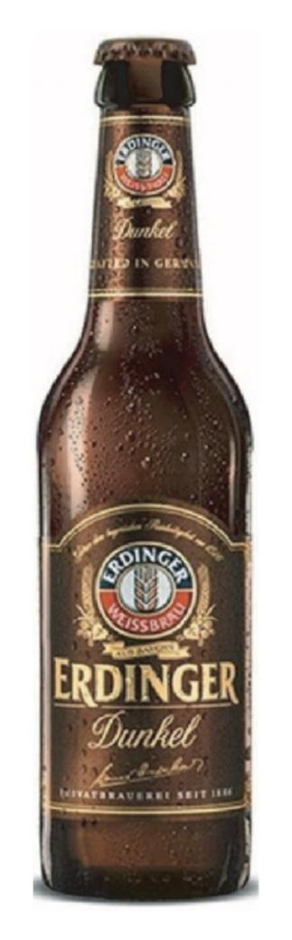Cerveza Erdinger Dunkel Botella 330cc