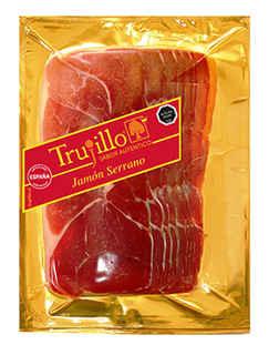 Jamón Serrano Trujillo Etiqueta Roja 180 gramos