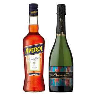 Aperol + Champagne Amaranta Brut 750cc