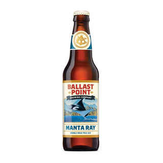 Cerveza Ballast Point Manta Ray Double IPA en Botella 355cc 8,5º alc.