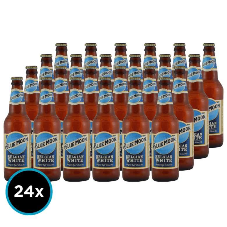 24x Cerveza Blue Moon en Botellas 355cc