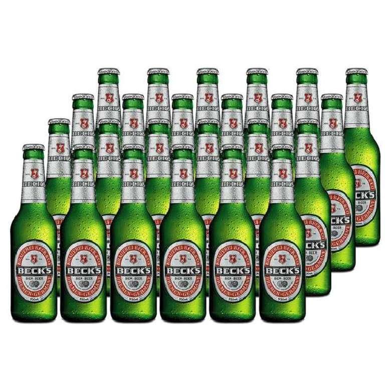 24x Cerveza Becks en Botellas 275cc