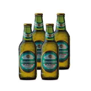 4x Cerveza Kunstmann Sin Alcohol 330cc