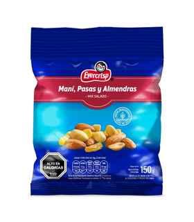Mix Maní Pasas y Almendras 150 gramos