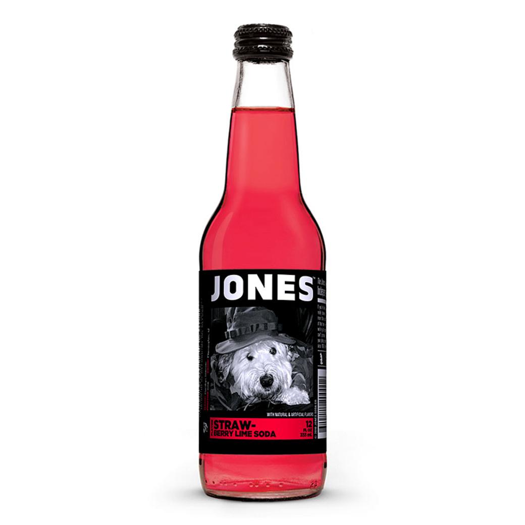 Jones Strawberry-Lime Soda 355cc